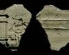 Fragment eines Models für ein Schreibgeschirr mit Mars aus der Serie der Sieben Planeten nach Beham, Südwestdeutschland, 2. Hälfte 16. Jh., Villingen, Museum Altes Rathaus