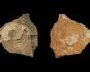Fragment des Models einer Blattkachel mit der Allegorie der Rethorik, unglasiert, Speyer (?), 2. Hälfte 16. Jh., H. 14,1 cm, Br. 14,1 cm Speyer, Historisches Museum der Pfalz, urspr. Speyer, Greifengasse