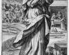 Folge der sieben Todsünden: Der Neid (5) Kupferstich von Crispin de Passe d. Ä. nach Zeichnungen von Maarten de Vos, vor 1600