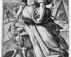 Folge der sieben Todsünden: Die Habgier (6) Kupferstich von Crispin de Passe d. Ä. nach Zeichnungen von Maarten de Vos, vor 1600