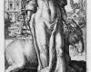 Folge der sieben Todsünden: Die Faulheit (7) Kupferstich von Crispin de Passe d. Ä. nach Zeichnungen von Maarten de Vos, vor 1600