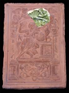 Rekonstruktion des Sinsheimer Fragments auf der Grundlage eines Ofenkachelmodels aus den Beständen des Bayerischen Nationalmuseums in München