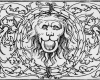 Ringhaltender Löwenkopf, Holzschnitt von Hans Sebald Beham, Nürnberg, vor 1550