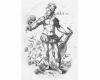 Serie der Monate: Der Mai (5), Kupferstich von Jost Amman, Nürnberg, 1588