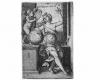 Serie der sitzenden Freien Künste: Die Astrologie (7), Kupferstich von Georg Pencz, um 1550