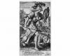 Serie der sieben Todsünden: Der Zorn (4) Kupferstich von Crispin de Passe d. Ä. nach Zeichnungen von Maarten de Vos, vor 1600