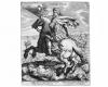 Serie der Weltreiche: Julius Cäsar, Radierung von Matthäus Merian, 1593