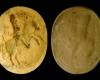Fragment eines Models für das Innenfeld einer Blattkachel mit dem französischen König zu Pferde, unglasiert, letztes Drittel 17. Jahrhundert, Bretten, Stadtmuseum