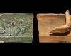 Fragment eine Gesimskachel mit geflügeltem Puttenkopf, grün glasiert, 17. Jh., H. 10,0 cm; Br. 12,0 cm, Rastatt, Archäologisches Landesmuseum Baden-Württemberg, Zentrales Fundarchiv, urspr. Messkirch. Schloss