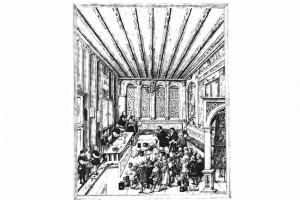 Ehrengedächtnisbücher der Reichsstadt Augsburg. Zeichnung von Jörg Breu d. J., Augsburg 1545