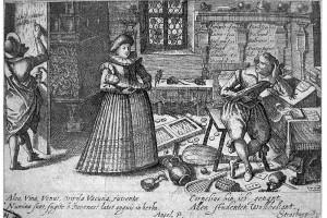 Speculum Cornelianum. Kupferstich, 1618